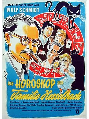 FILM PLAKAT Das Horoskop der Familie Hesselbach