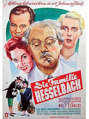 FILM PLAKAT Die Familie Hesselbach