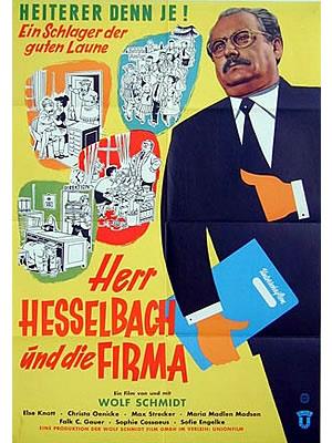 FILM PLAKAT Herr Hesselbach und die Firma