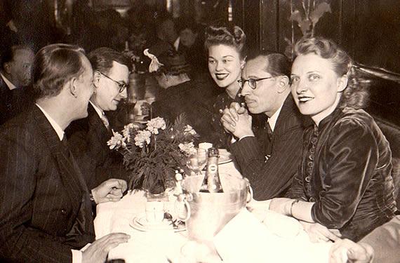 Irm und Wolf in Paris 1942