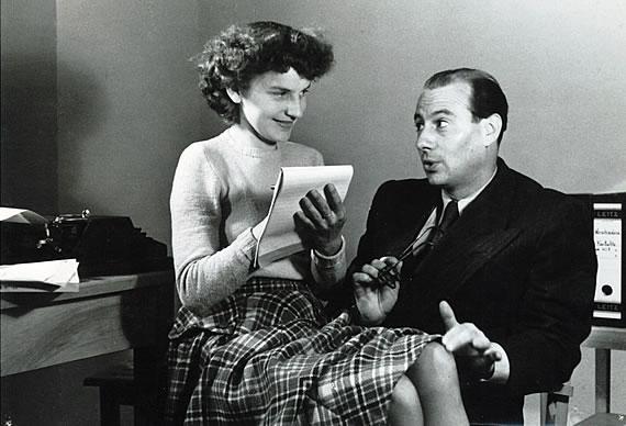 Gretl Pilz und Wolf Schmidt, 1949