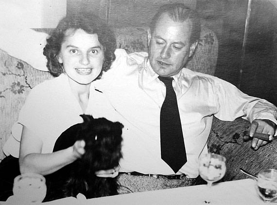 Gretl Pilz und Wolf Schmidt, 1952