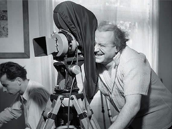 Wolf Schmidt hinter der Kamera
