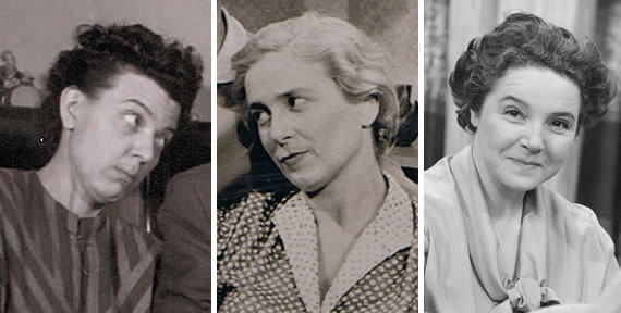 Lia Wöhr, Else Knott, Liesel Christ
