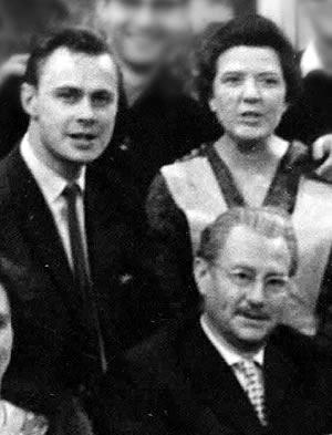 Harald Schäfer neben Lia Wöhr und Wolf Schmidt