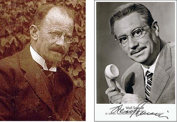 Karl Schmidt und Wolf Schmidt alias Karl Hesselbach
