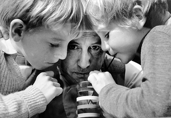 Wolf Schmidt mit seinen Söhnen Stefan und Michael