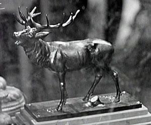 Der röhrende Hirsch