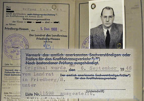 Wolf Schmidts Ersatzführerschein
