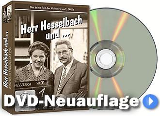 Die dritte Staffel der Hesselbach-Fernsehreihe wurde neu auf DVD aufgelegt und ist nun im Handel erhältlich