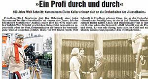 Wetterauer Zeitung vom 19. Februar 2013